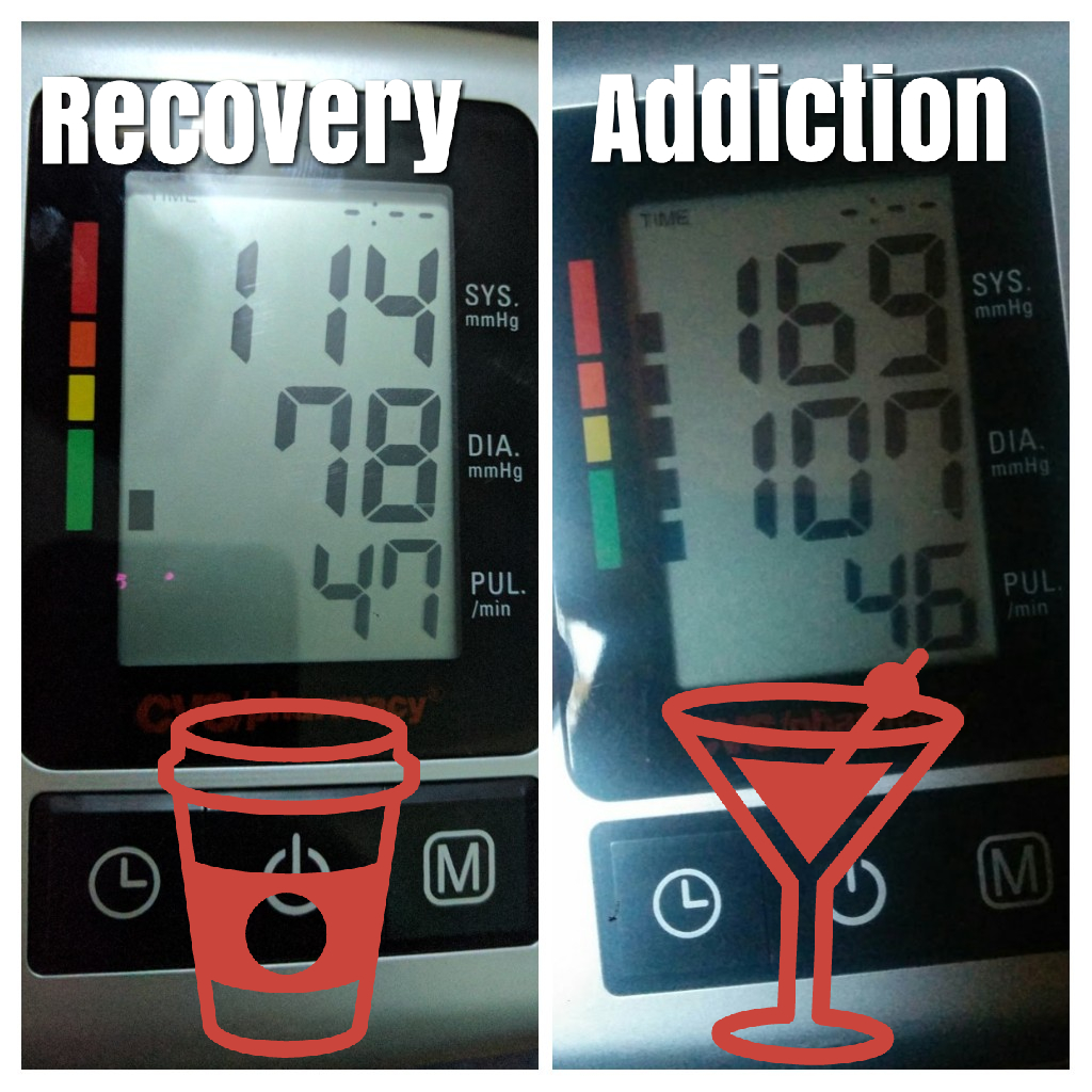 Giving up alcohol has lowered my blood pressure